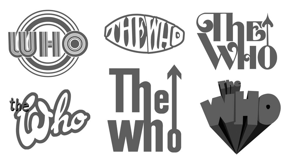 The who logo vector