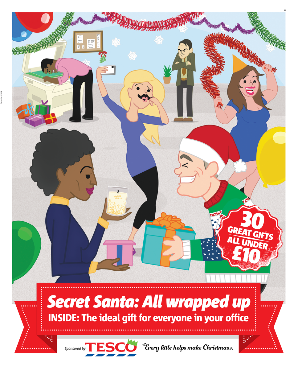 Tesco secret santa grarg media for Lil yachty mural