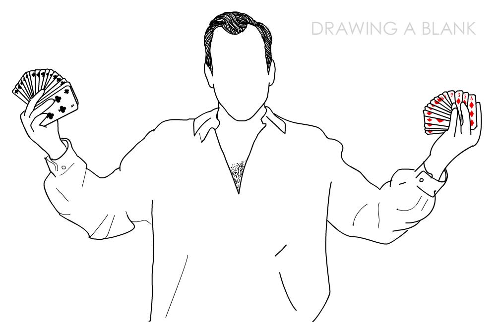 Gob Bluth - Drawing A Blank