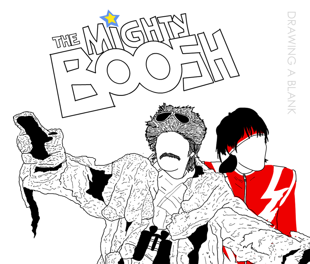 The Mighty Boosh - Drawing A Blank
