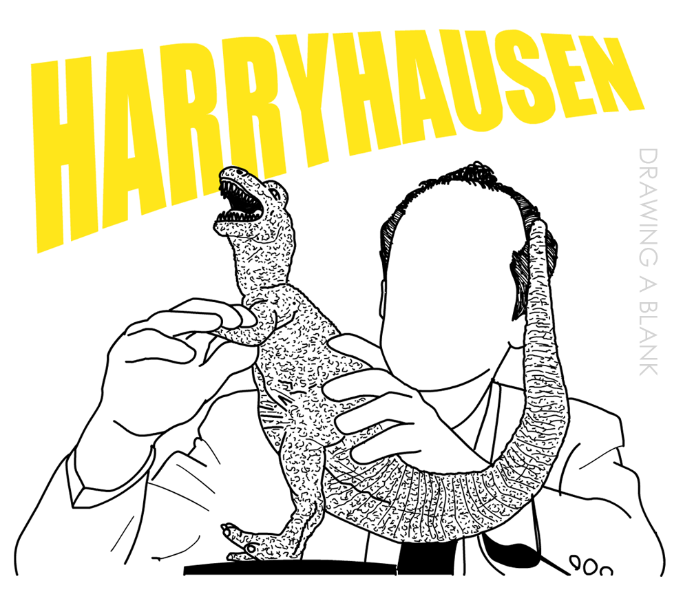 Ray Harryhausen - Drawing A Blank